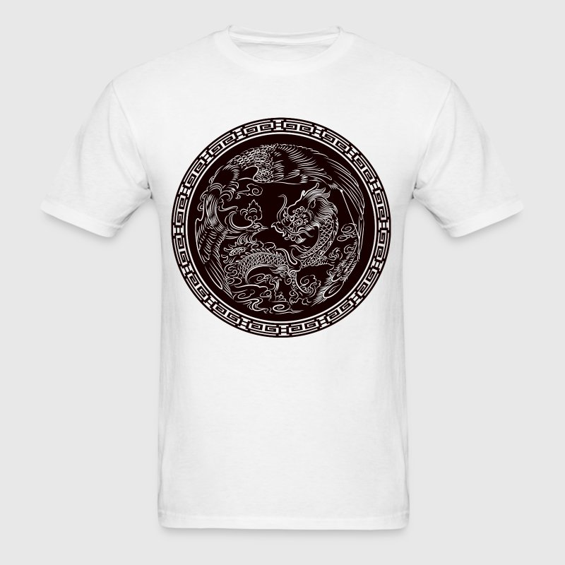 Dragon Seal - Men's T-Shirt