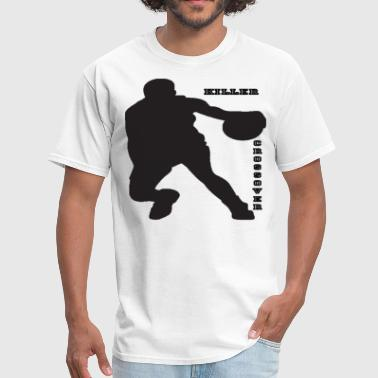 Crossover Basketball Basketball-Crossover.gif - Men's T-Shirt