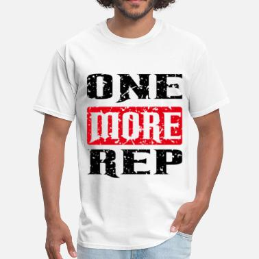 Repeat Sportswear one more rep black red - Men's T-Shirt