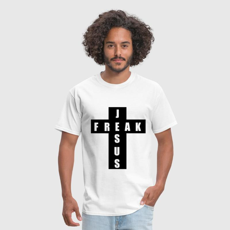 Jesus Freak Cross - Men's T-Shirt
