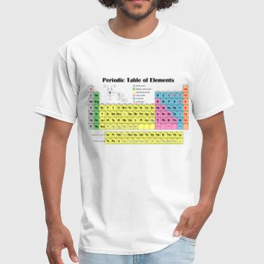 Shop periodic table of the elements t shirts online spreadshirt periodic table of elements men39s t shirt urtaz Choice Image
