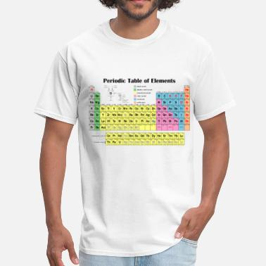 Shop Periodic Table T Shirts Online Spreadshirt