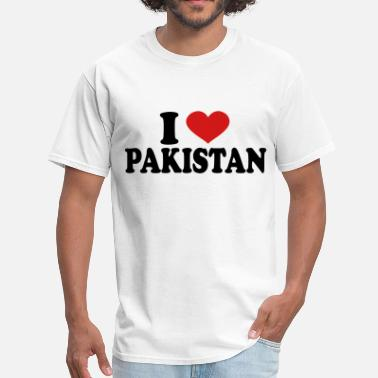 I Love Pakistan I Love pakistan - Men's T-Shirt