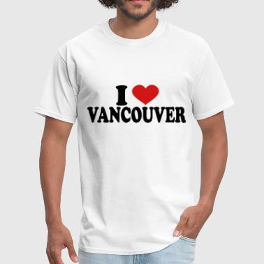 i love vancouver - Men's T-Shirt