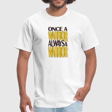 Classic Once a Warrior Marquette - Men's T-Shirt