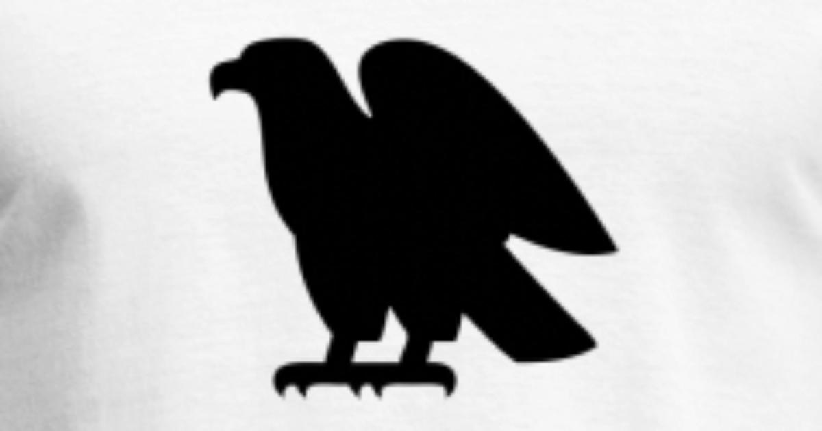 Eagle And Circle Emblem Template Set Hawk Symbol Vector Image Artwork Of To Zoom