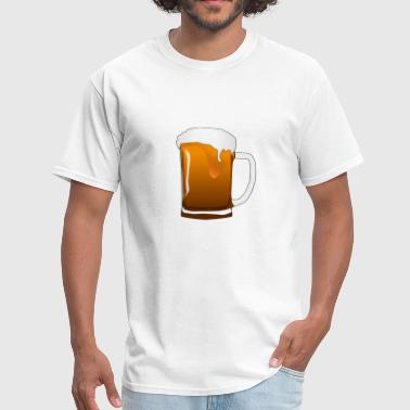 pitcher beer octoberfest - Men's T-Shirt