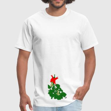 Dirty Christmas Naughty Mistletoe - Men's T-Shirt