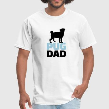 Pug Dad Pug - Men's T-Shirt