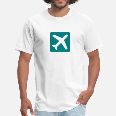 With Airplane Airplane - Men's T-Shirt