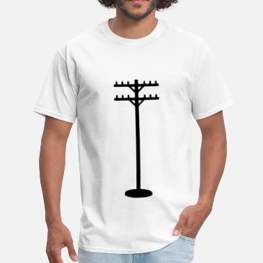 Telephone Pole Telephone Pole - Men's T-Shirt
