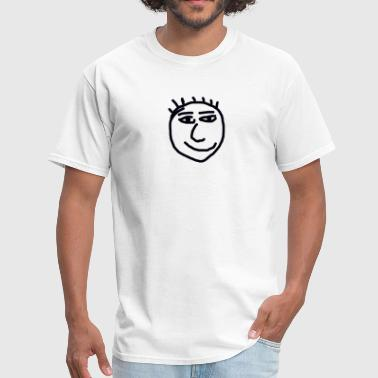 Goofy Smiley Face - Men's T-Shirt