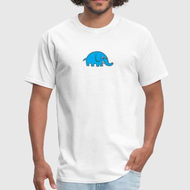 Blue Elephant Blue Elephant - Men's T-Shirt