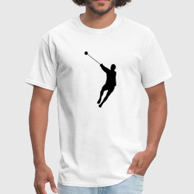 Hammer Throwing Silhouette (Hammer Throw) - Men's T-Shirt