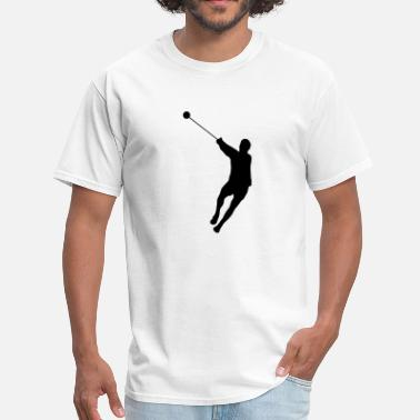 Hammer Throwing Hammer Throwing Silhouette (Hammer Throw) - Men's T-Shirt