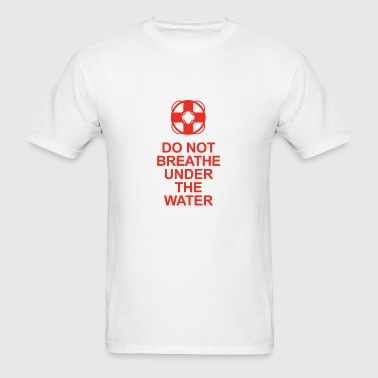 Lifeguard Advice - Men's T-Shirt