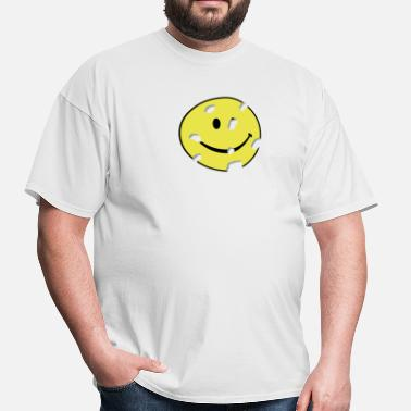 Humour shot smiley - Men's T-Shirt