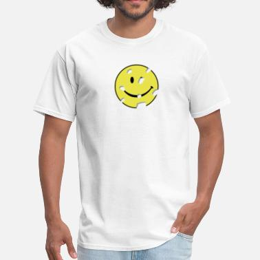 Target shot smiley - Men's T-Shirt