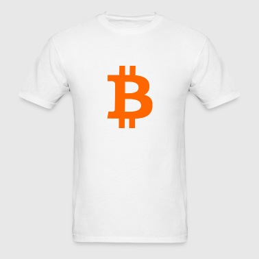 Bitcoin Symbol - Men's T-Shirt