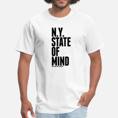 Ny State NY State of Mind - Men's T-Shirt