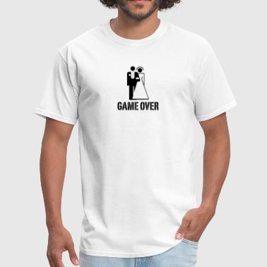 Bride And Groom Game Over Game Over Bride Groom - Men's T-Shirt