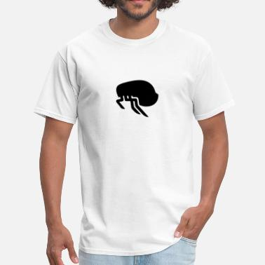 Silhouette Insects Flea Silhouette - Men's T-Shirt
