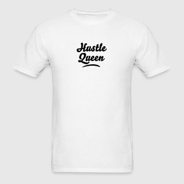 hustle queen - Men's T-Shirt