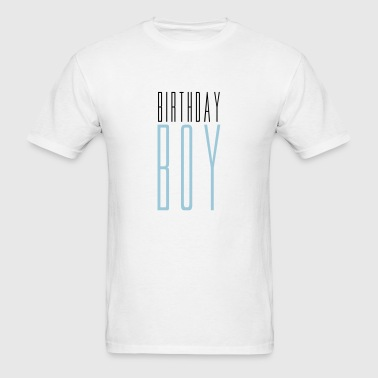 text birthday boy birthday celebrate party anniver - Men's T-Shirt