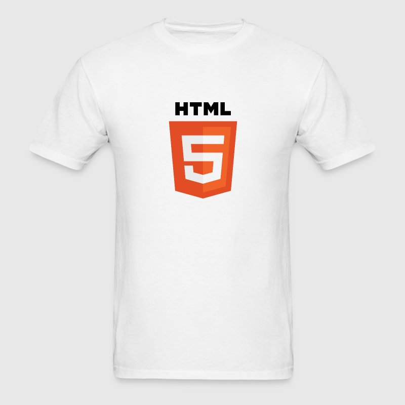 HTML5 Logo - Men's T-Shirt