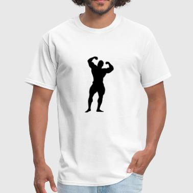 body building - Men's T-Shirt