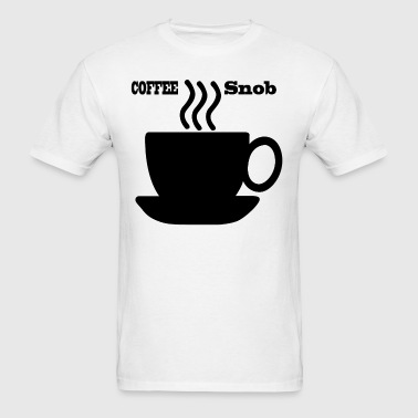 Coffee snob - Men's T-Shirt