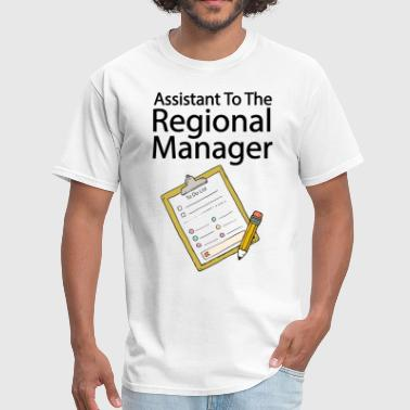 Assistant To The Regional Manager T Shirt - Men's T-Shirt