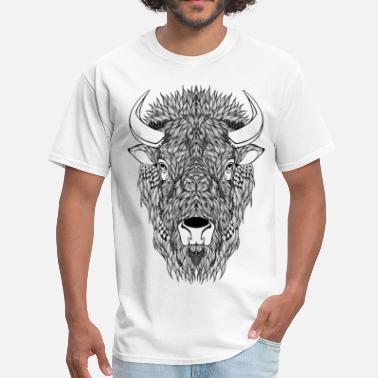 Bison Bison - Men's T-Shirt