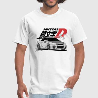 Initial D Initial-D Fall Collection: R34 - Men's T-Shirt