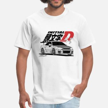 Initial-d Initial-D Fall Collection: R34 - Men's T-Shirt