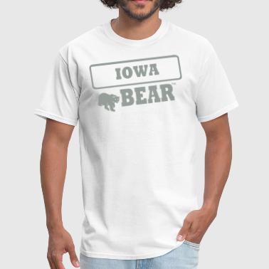IOWA BEAR - Men's T-Shirt
