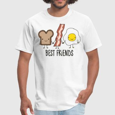 Best Friends (Breakfast) - Men's T-Shirt