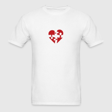puzzled - Men's T-Shirt