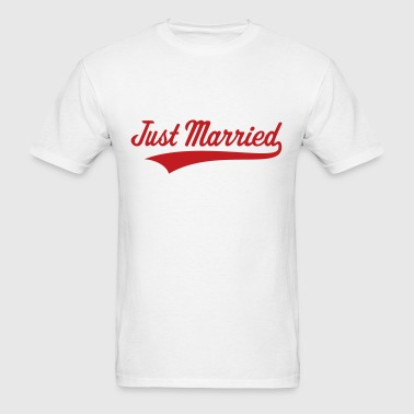 Just Married (Marriage / Wedding) - Men's T-Shirt