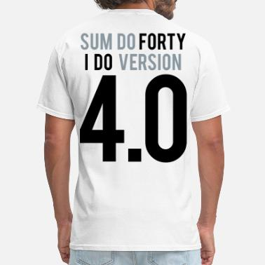40th Birthday Birthday 4 point 0 by Tai's Tees - Men's T-Shirt