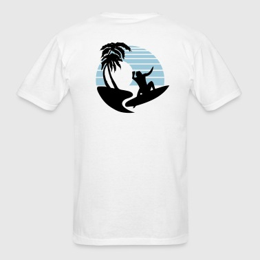 Big Wave Surf - Men's T-Shirt