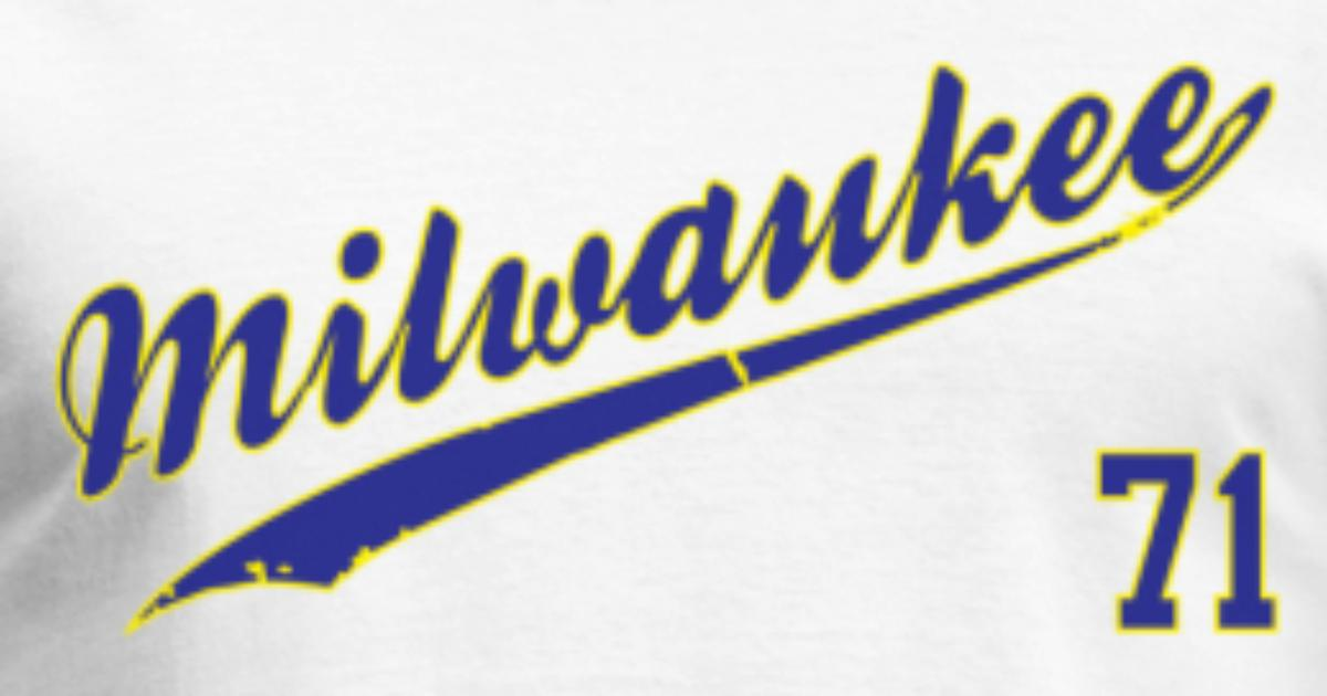 ce29d930f Milwaukee Brewers #71 Bob Uecker Men's T-Shirt | Spreadshirt