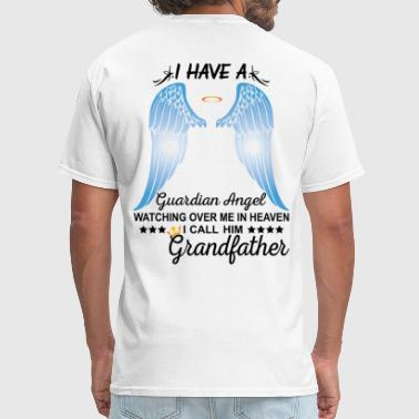 My Grandfather Is My Guardian Angel - Men's T-Shirt