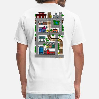 Car Mat Tshirt Play Mat - Men's T-Shirt