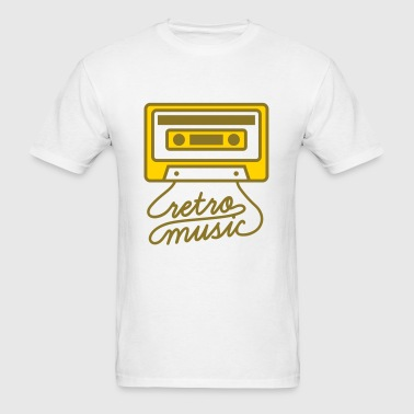 Retro Music Cassette Tape - Men's T-Shirt