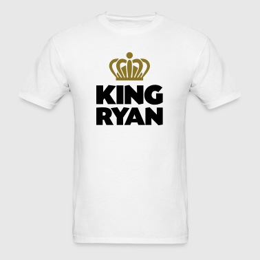 King ryan name thing crown - Men's T-Shirt