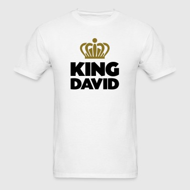 King david name thing crown - Men's T-Shirt