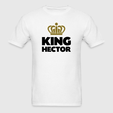 King hector name thing crown - Men's T-Shirt