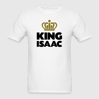 King isaac name thing crown - Men's T-Shirt
