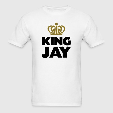 King jay name thing crown - Men's T-Shirt